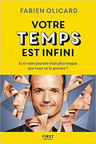 livre votre temps est infini de Fabien Olicard