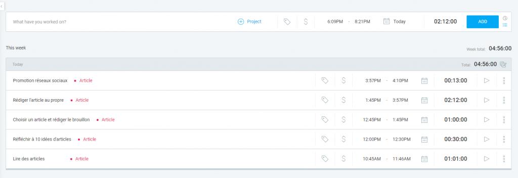 Clockify, top 3 application pour booster ta productivité