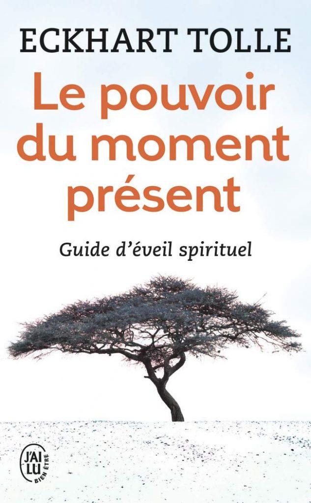 Couverture du livre : le pouvoir du moment présent