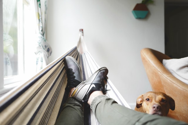 Homme dans un hamac se détendant avant de passer aux autres étapes pour apprendre vite et bien